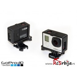 GoPro Frame (Hero4 - Hero3)