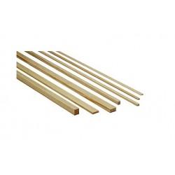 Pine rectangular strip 5 x 20 x 1000 mm