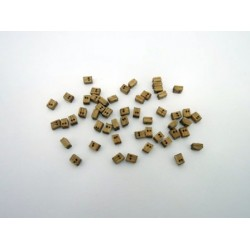 Wooden Block Double 4 mm (50 pcs)