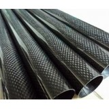 Carbon Fibre Round Tube D10 x d8 x 1000 mm roll-wrapped