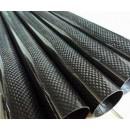 Carbon Fibre Round Tube D16 x d14 x 1000 mm roll-wrapped