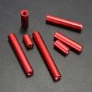 M3 Round Aluminum Alloy Long Nut Studs Standoffs Fastener  25mm