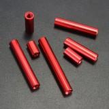 M3 Round Aluminum Alloy Long Nut Studs Standoffs Fastener 30mm