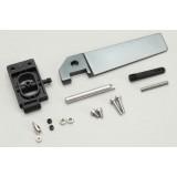 Aluminum Alloy Rudder Assembly Set for 8301 Bullet 8302 US1 Joysway Boat