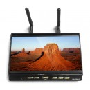 RX - LCD5812 FPV 7 Inch 40CH FPV Monitor Built-in 5.8GHz Receiver 1024 x 600 LCD Screen  - BLACK