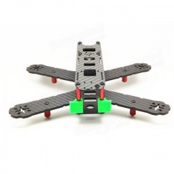 LT210 210mm Carbon Fiber FPV Racer Quadcopter Frame QAV210 With 10 Pairs Propeller