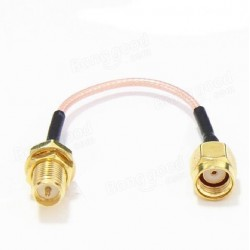 60mm Low Loss Antenna Extension Cord Wire Fixed Base for Antenna SMA RP-SMA