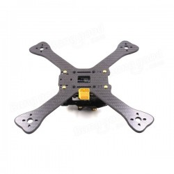 GEPRC GEP-TX Chimp 4 5 6 Inch 180MM 210MM 230MM Carbon Fiber Frame Kit with PDB LED XT60 Camera Moun