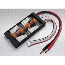 HobbyKing Safe 40A Parallel Charge Board for 4 Packs 2~6S (XT60)