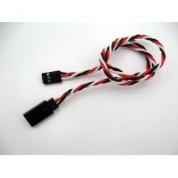 Upleteni produžni servo kabl (d 0.64) 45 cm