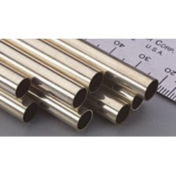Brass Tube D8 x d7 x 1000 mm