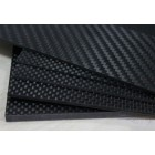 Carbon Fiber Board 1 x 250 x 400 mm