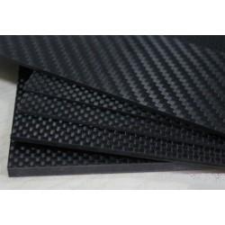 Carbon Fiber Board 2 x 400 x 500 mm