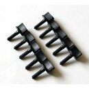 Hand Driven Plastic Screws M4 x 20 mm (10 pcs)