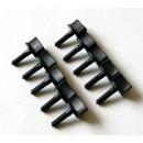 Hand Driven Plastic Screws M5 x 25 mm (10 pcs)