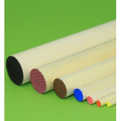 Balsa Round Strip D6.5 x 900 mm (1 pcs)