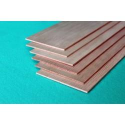 Pine sheet 1 x 100 x 1000 mm