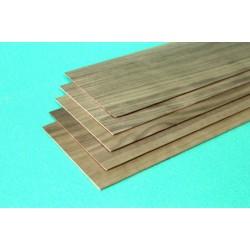 Walnut sheet 1.5 x 100 x 1000 mm