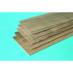 Walnut sheet 2 x 100 x 1000 mm
