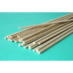 Lime rectangular strip 5 x 10 x 1000 mm