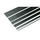 Carbon Fiber Flat Strip 10 x 1 x 1000 mm