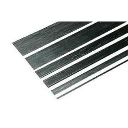 Carbon Fiber Flat Strip 10 x 1 x 1000 mm