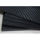 Carbon Fiber Board 2.5 x 200 x 300 mm
