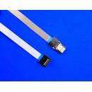 Super Soft Shielded Mini HDMI to HDMI 20 cm