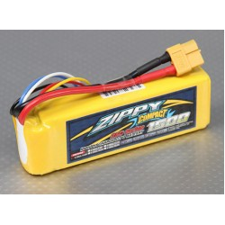 ZIPPY Compact 1500mAh 4S 25C Lipo Pack