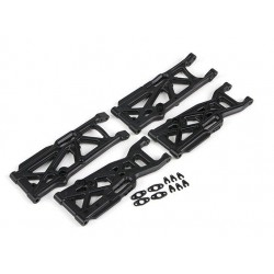 Front/Rear lower susp.arms set - Basher SaberTooth 1/8 Scale Truggy (4pcs)