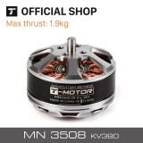 T-MOTOR brand RC engine MN3508 KV380 outrunner brushless motor for multicopter multi-rotor boats planes drones