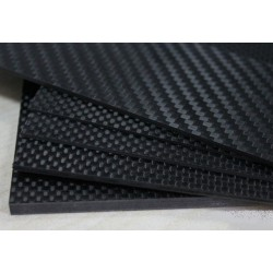 Carbon Fiber Board 0.5 x 250 x 400 mm