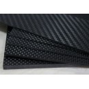 Carbon Fiber Board 0.5 x 200 x 250 mm