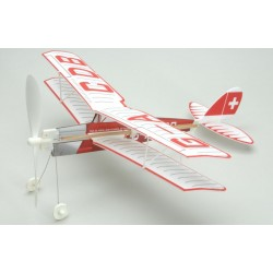 TIGET MOTH BIPLANE Free Flight Model (407 mm)