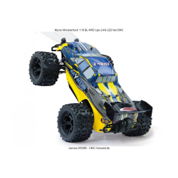 JAMARA MYRON BL 1:10 4WD LED LiPo 2.4GHz Electric Powered Model Car