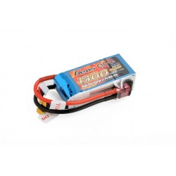 GENS ACE LiPo Battery 11.1 V/ 1300 mA/ 25C JST connector