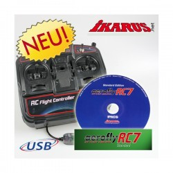 Aerofly RC7 Standard with USB-Commander
