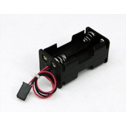 Square Support for Receiver Battery