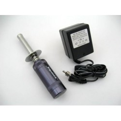 Aluminium Glowstart with Meter & Charger 3600 mA