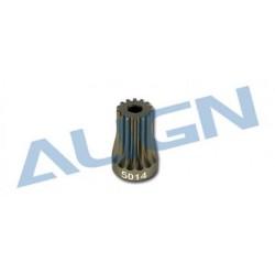 Motor Pinion Gear 14T T-REX 500