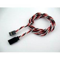 Upleteni produžni servo kabl (d 0.64) 90 cm