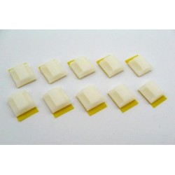 Miniature self Adhesive Cable Holder (10 pcs)