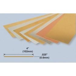 Copper Sheet 0.6 x 102 x 254 mm
