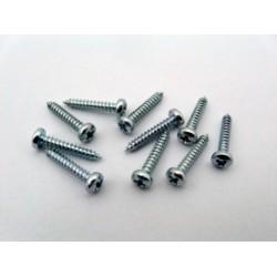 Phillips button screw 2.2 x 13 mm (10 pcs)