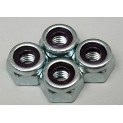 Nylon insert lock nut M5 (10 pcs)