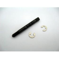 Drive Gear Shaft + E-clips XSTAR, XSTAR-PRO, TRIBESHEAD 2/ PRO