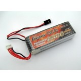 RC-GENS ACE LiPo Transmitter Battery 11.1 V/ 2000 mA/ 5C Square