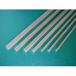 Fir rectangular strip 4 x 4 x 1000 mm