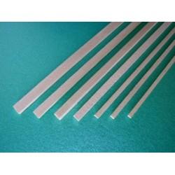Fir rectangular strip 5 x 5 x 1000 mm