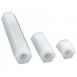 Stand Off PlasticThread M3/ 15 mm (10 pcs)